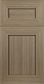 Custom Closet Door Styles - 5 PIECE DOOR SMALL SHAKER